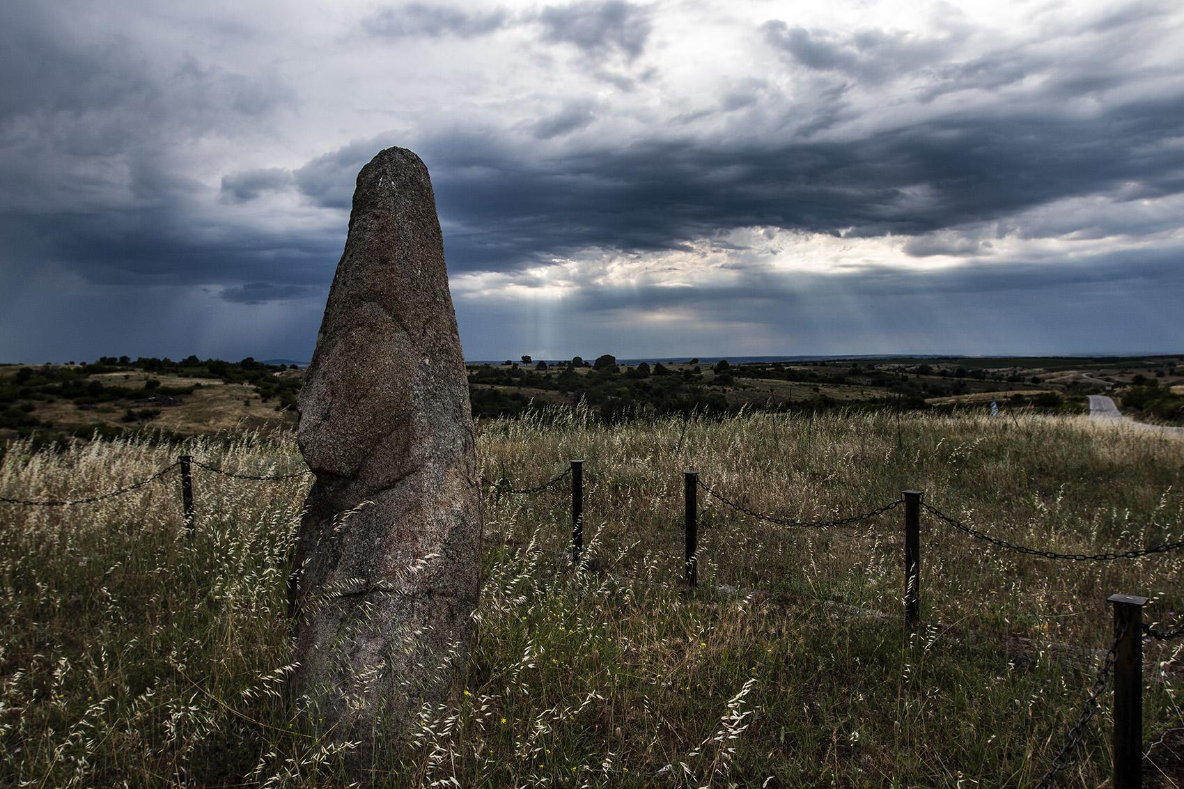 Менхир чучул камък
